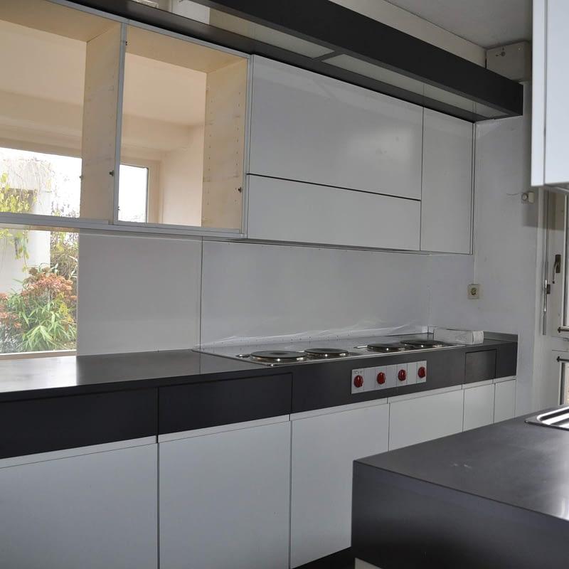 Sanierung Wohnung in Erlenbach, Küche vorher