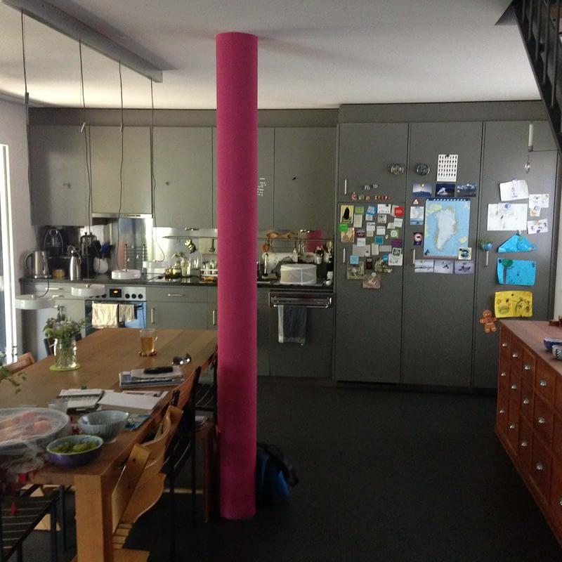 Sanierung Wohnung in Zürich Limmatwest, Küche vorher