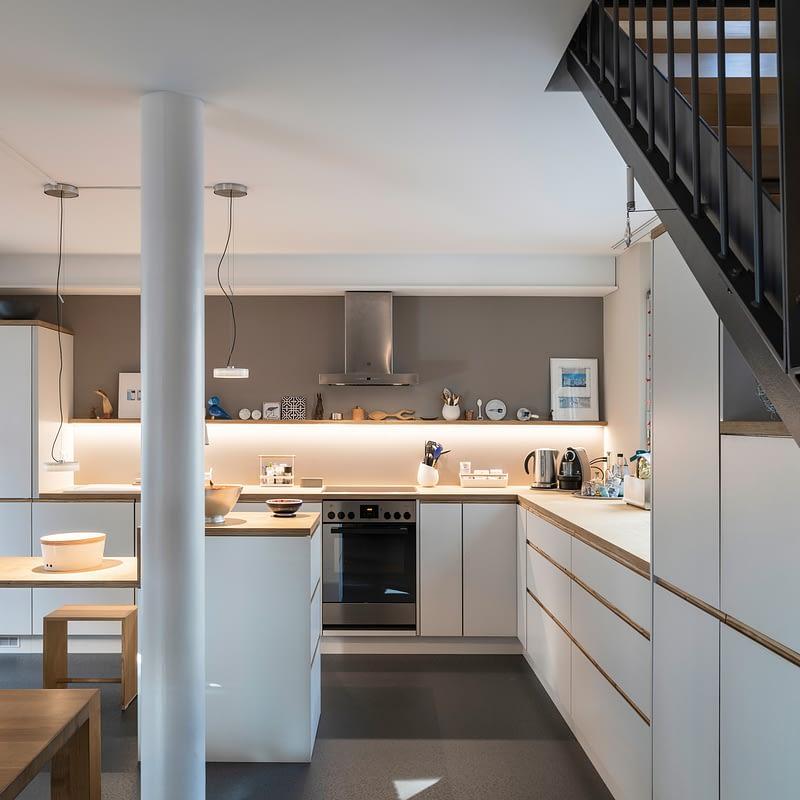 Sanierung Wohnung in Zürich Limmatwest, Küche