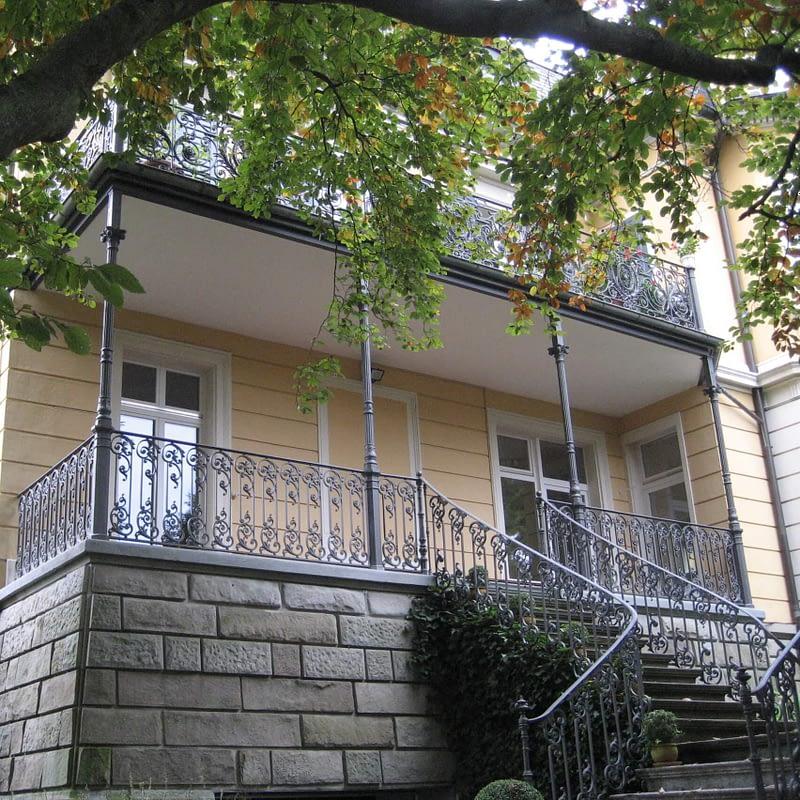 Verglasung Veranda in Zürich vorher