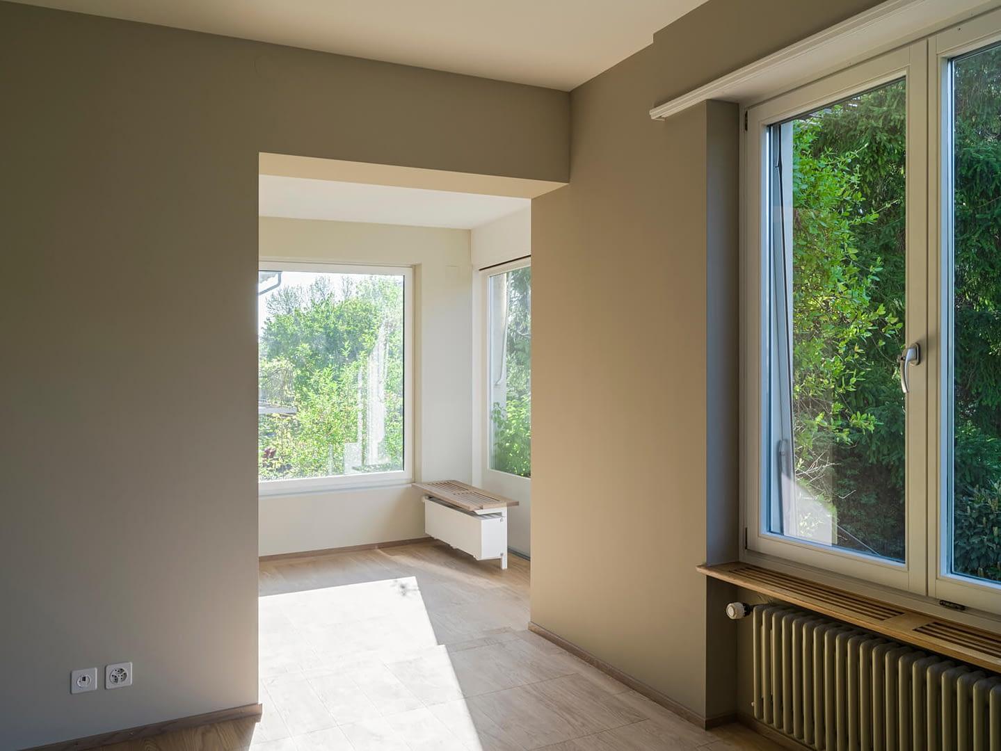 Sanierung Wohnhaus in Binningen, Zimmer