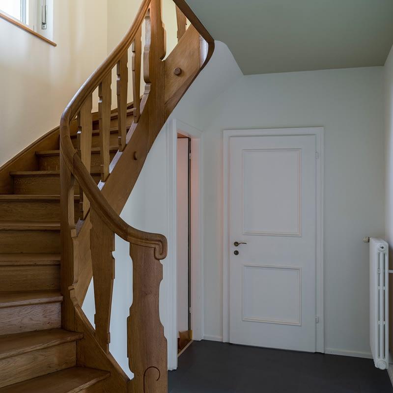 Sanierung Wohnhaus in Binningen, Treppenhaus