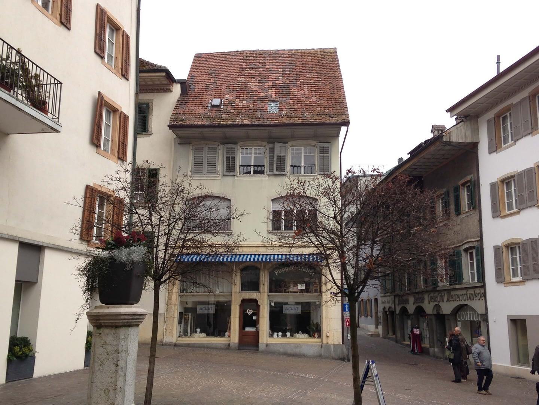 Vorprojekt Umbau Mehrfamilienhaus in Olten, Platzansicht