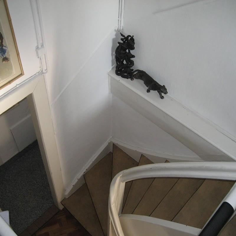 Umbau Reiheneinfamilienhaus Basel, Dachgeschoss vorher