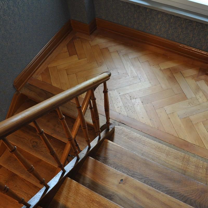 Sanierung Mehrfamilienhaus in Zürich Wipkingen, Treppenhaus